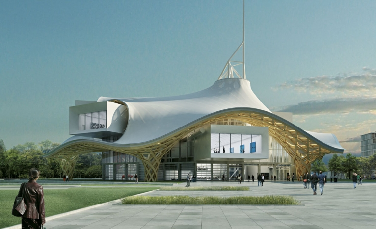 The Pompidou Centre's outpost in Metz, France